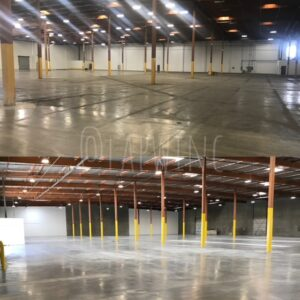pressured washed commercial warehouse